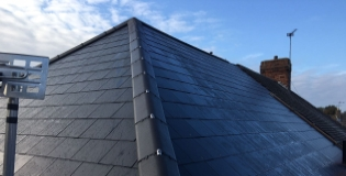 Slate and tiled roof repair
